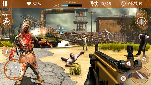 Kill Shot Zombie: New Zombie Shooting games 1.0 Mod screenshots 4