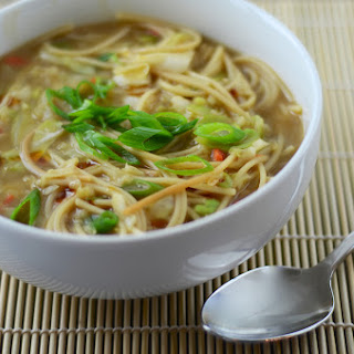 Vegan Homemade Ramen Noodles.