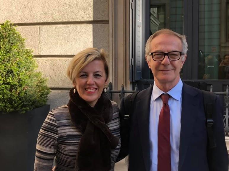 Sonia Ferrer y José Guirao, diputados por el PSOE.