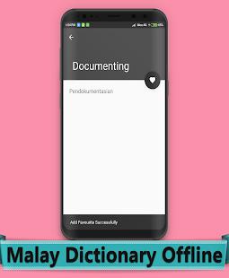 Malay Dictionary Offline - náhled