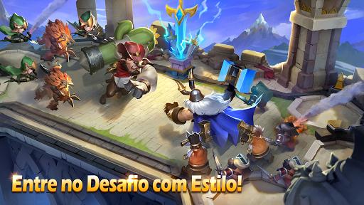 Castle Clash: Pelotu00e3o Valente  screenshots 9
