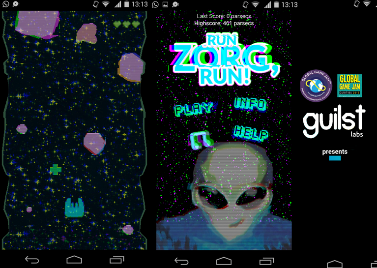 Run Zorg, Run!- screenshot