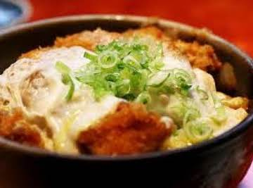 "Pork Cutlet ""Katsudon"""