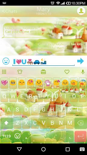 Fair Town Emoji Keyboard Theme