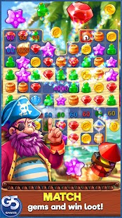 Pirates & Pearls™: A Treasure Matching Puzzle- screenshot thumbnail