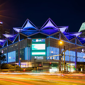 Suntec Convention and Exhibition Centre by Binoy Uthup - Buildings & Architecture Office Buildings & Hotels ( suntec, hdr, night scene, night lights, cityscape, architecture, hdr photography, singapore, city, nightscape, urban, suntec convention and exhibition centre, night view, night photography, buildings, night, night shot, nightscapes )