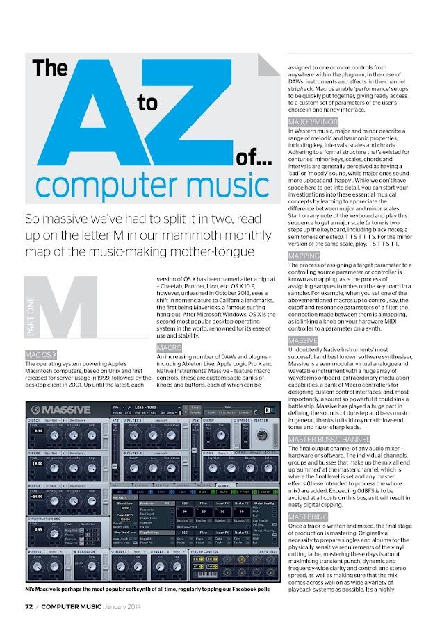 Computer Music- screenshot