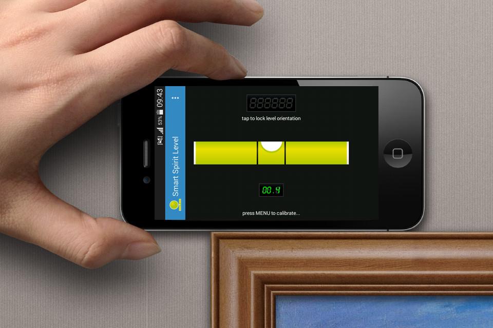 Smart Spirit Level– Capture d'écran
