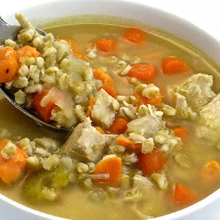 Chicken Vegetable Barley Soup Slow Cooker Recipes