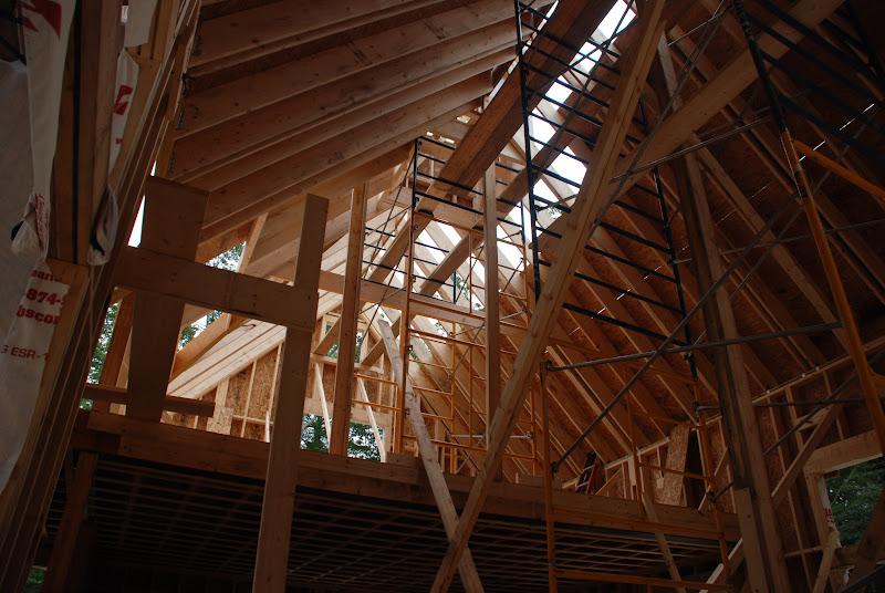 Photo: Roof sheathing