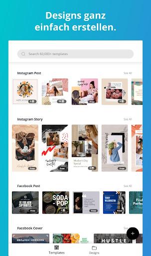 Canva Grafik Design Logo Poster Gestalter Apps Bei