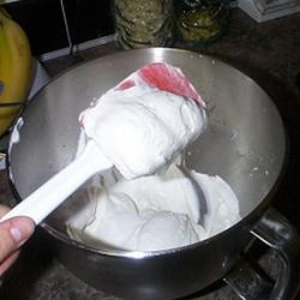 For the whipped cream (*You can skip this step entirely by using cool whip.)...