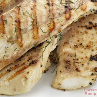 Easy Grilled Tilapia.