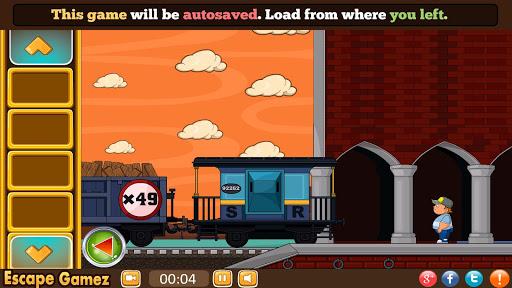 방 탈출 : 기차역