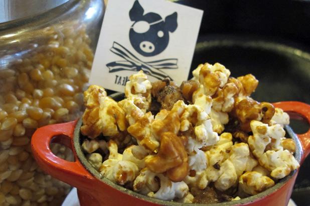Photo: Bacon Caramel Popcorn with Bacon Salt: http://bit.ly/RZc4kc