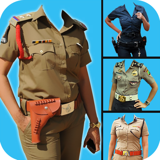 Women Police Photo Suit Editor Free