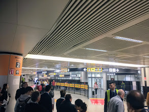 Photo: Uscita terminal 3 Fiumicino