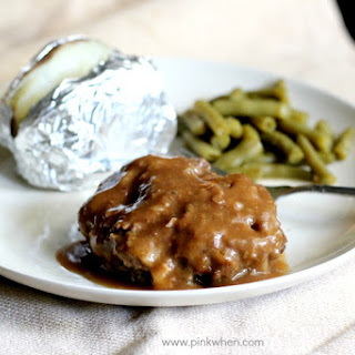 Slow Cooker Salisbury Steak.