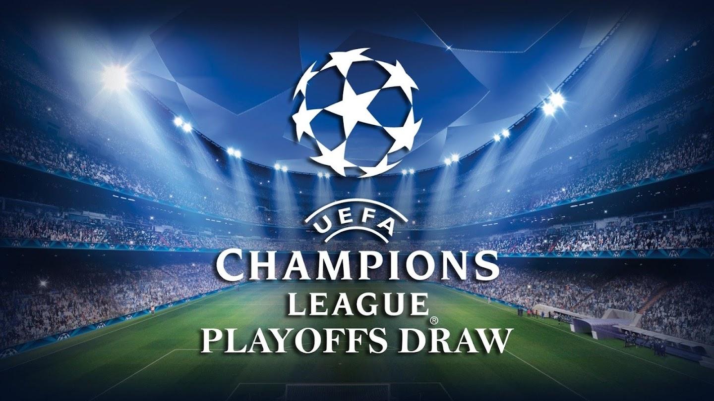 Watch UEFA Champions League Playoffs Draw live