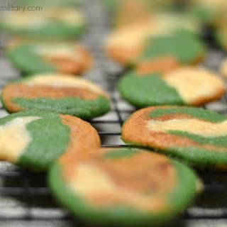 Camo Cookies