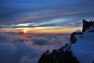 Photo: Comienza la puesta de sol. Espectacular. Foto Ch