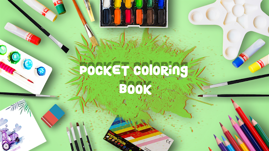 Pocket Coloring Book - náhled