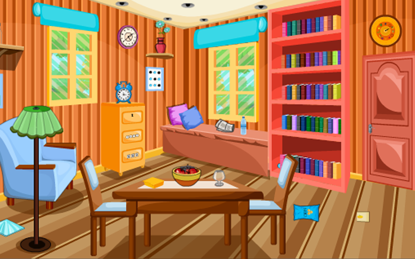 Escape puzzle dining room android apps on google play for Escape puzzle