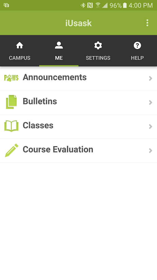 iUsask- screenshot