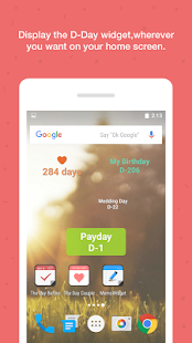 TheDayBefore (D-Day widget)- screenshot thumbnail