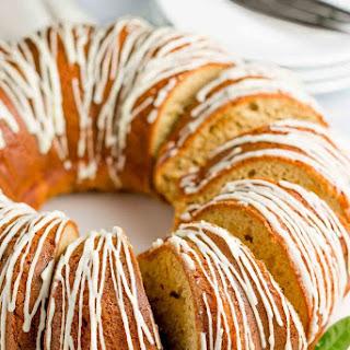 Healthy Orange Bundt Cake.