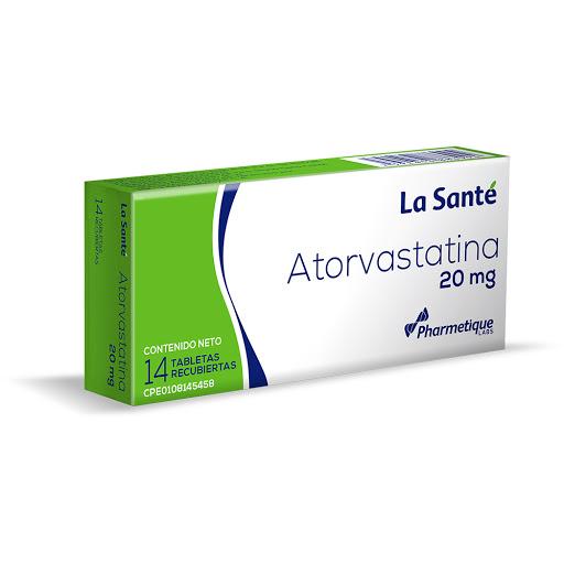 Atorvastatina Elter 20 mg x 14 Tabletas