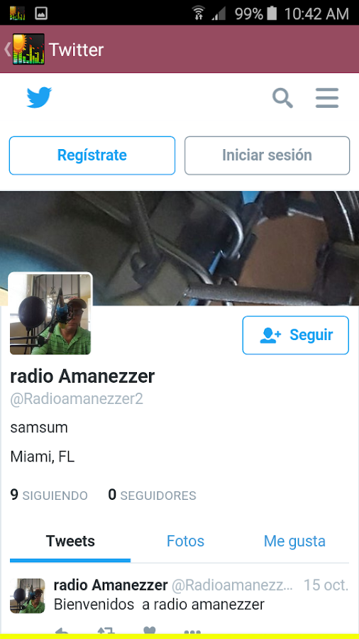 Radio Amanezzer- screenshot