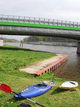 Photo: i meta :) przy moście...