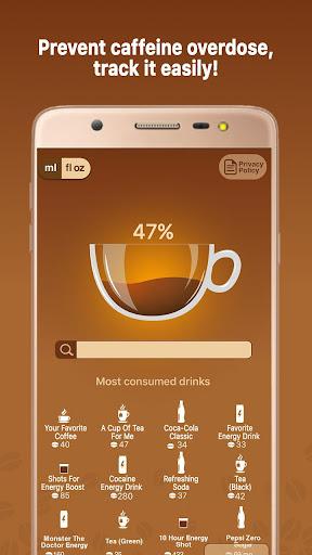 Caffeine Tracker screenshot 1