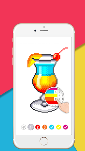 Creative Color by number:  Pixel Art - screenshot
