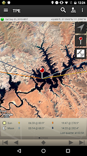 The Photographer's Ephemeris Screenshot