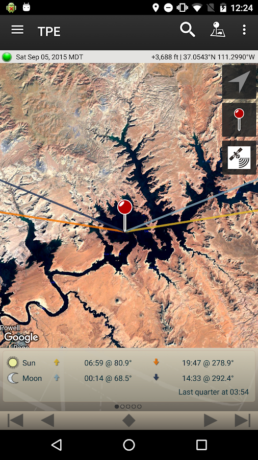 The Photographer's Ephemeris- screenshot