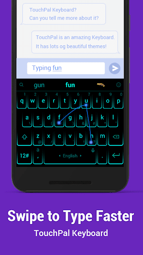 TouchPal Keyboard for HTC screenshot