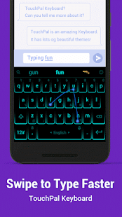 TouchPal Keyboard for HTC - náhled