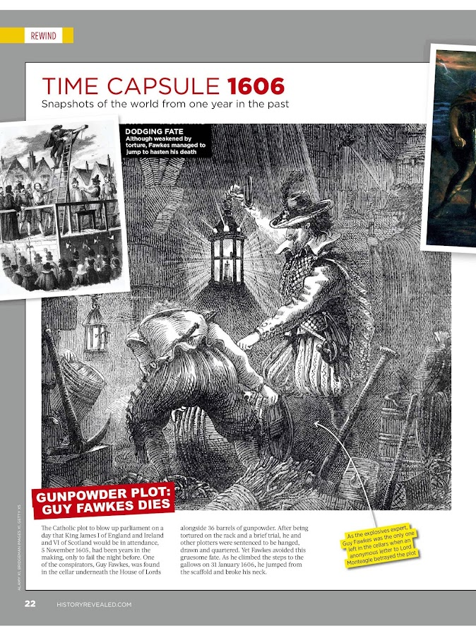 History Revealed Magazine- screenshot