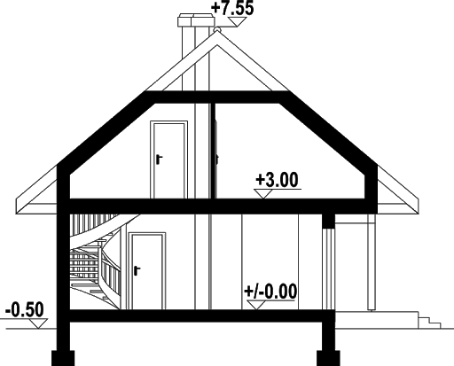 Świdnica 31dws - Przekrój