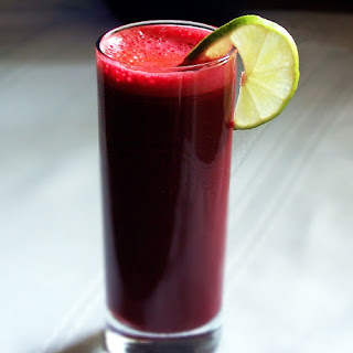 Beet Carrot and Ginger Juice.
