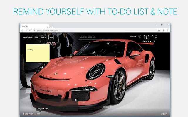 Porsche 911 GT3 & GT2 Cars Wallpapers New Tab