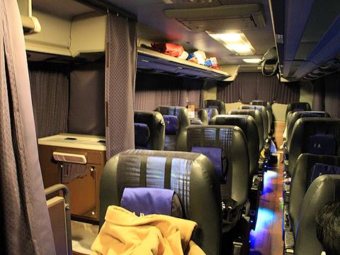 京成バス「K★スターライナー」 大阪・神戸線 H651 車内