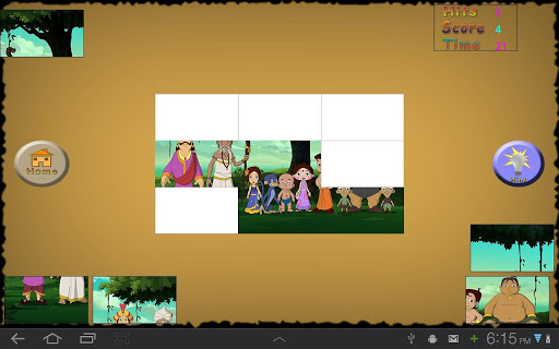 Bheem puzzle Game - Bali Movie