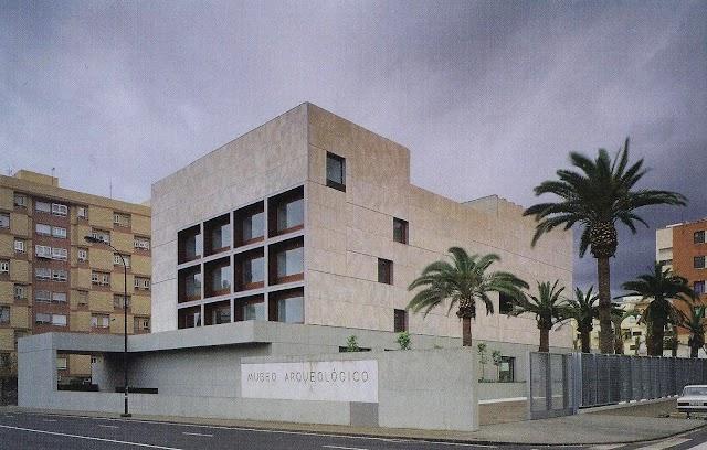 Museo de Almería, visto desde Carretera de Ronda.