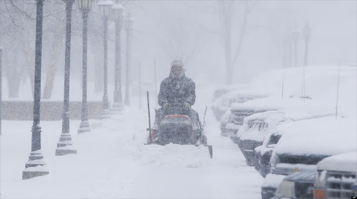 A major  storm dumped heavy snow on the midwestern United States. File photo