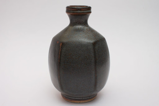 John Leach Ceramic Bottle