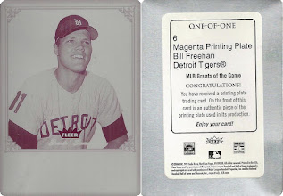 Photo: Bill Freehan 2006 Greats of the Game Printing Plates Magenta (1/1)