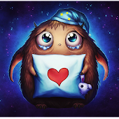 Booboo : Cute little monster Live Wallpaper Pro